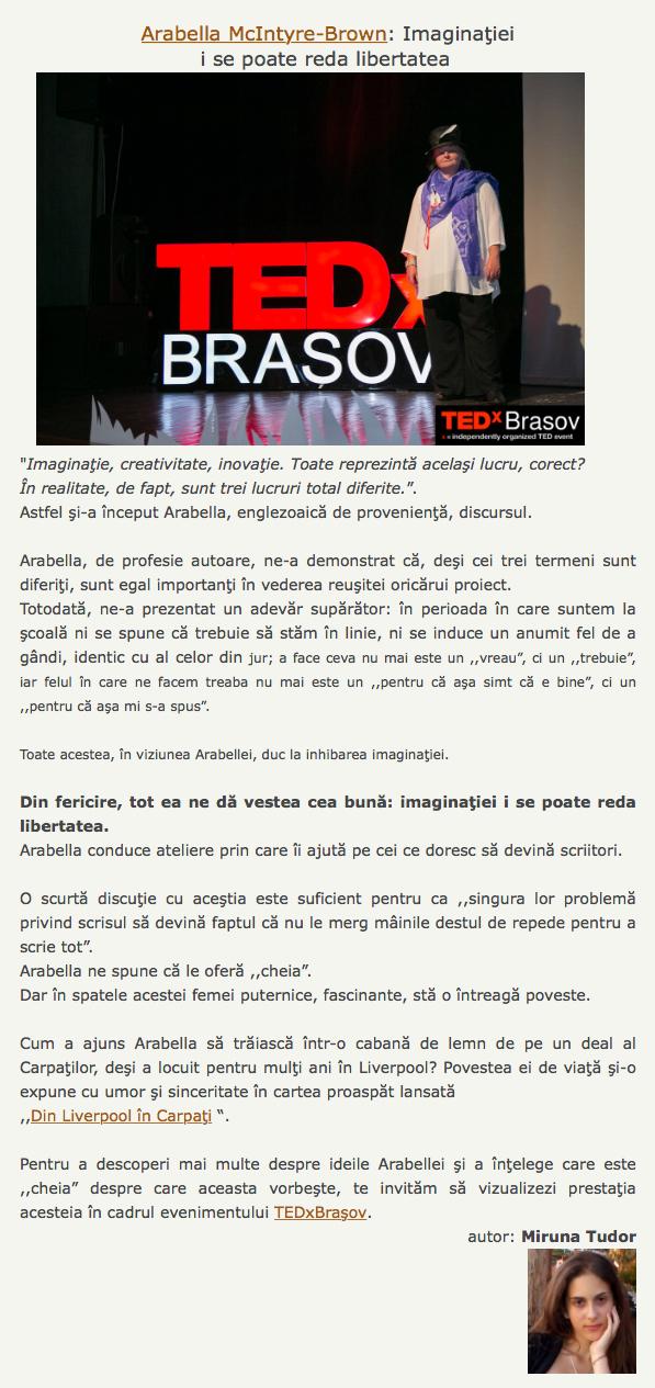 tedx brasov review