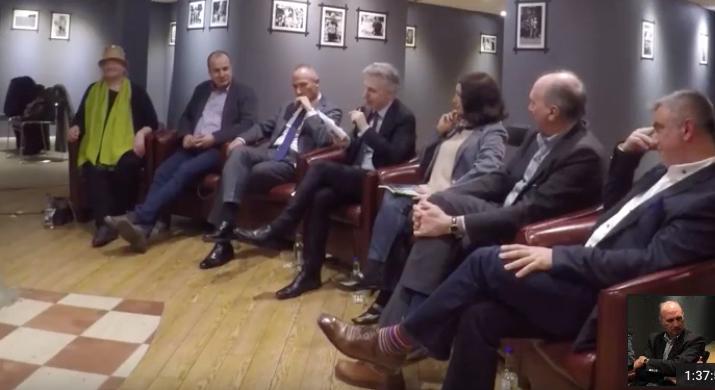 panel at Waterstones April 2019